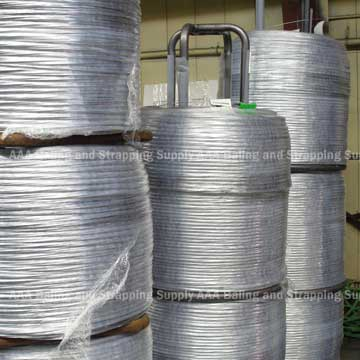 Automatic Baling Wire - Steel Carrier