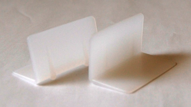 "Plasic Edge Protector - 2 - 1/2"" x 2"""