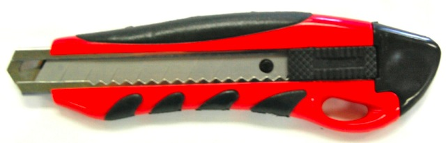 Retractable, Heavy Duty Knife, Snap-Off (6 per case)