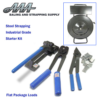 Industrial Grade Starter Kit for Regular Duty Steel Strap